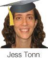 Jess Tonn Graduation headshot
