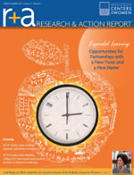 Wellesley Research and Action Report Spring/Summer 2012