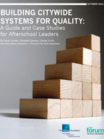 Building Citywide Systems for Quality